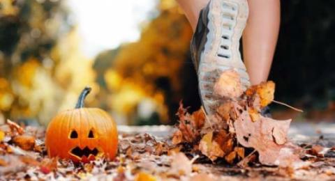 Одежда и обувь для бега осенью